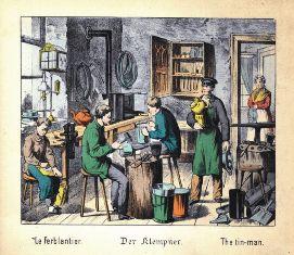 Bádogos műhely 1880
